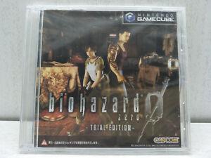 *New Sealed* Nintendo GameCube BIOHAZARD 0 ZERO TRIAL EDITION Resident Evil Demo