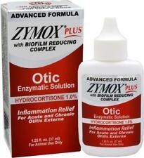 Zymox Plus Otic 1.0% 1.25.oz Advanced Formula Ear Infrections Pet Hydrocortisone