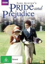 Bbc's Pride and Prejudice NEW R4 DVD