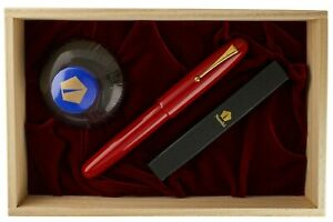 NAMIKI EMPEROR URUSHI RED VERMILION NEW BOX AND PAPERS GRAIL OF NAMIKI URUSHI !!