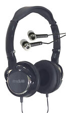 Combo Pack Digital Folding Stereo Music Extended Bass Headphones & Earphones