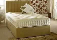 Cotton Medium Firm Divan Beds with Mattresses