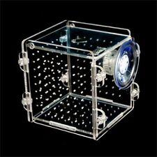 Fish Tank Breeding Isolation Box Aquarium Acrylic Incubator Baby Reptile Cage
