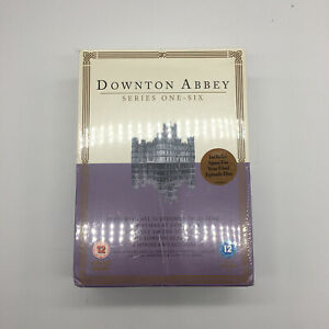 Downton Abbey Series One - Six The Complete DVD Set NEW SEALED