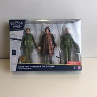 Doctor Who U.N.I.T. 1975 Terror Of The Zygons Action Figure Unit Collector Set
