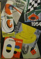 Gran Premio  Italia Monza 1954 Calendar  Grand Prix Italy Formula 1 - RARE
