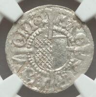 1500-1509 Livonia Michael Hildebrand & Wolter von Plettenberg Schilling MS64 NGC