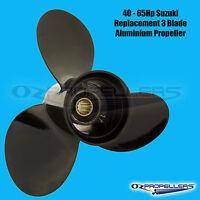 40 50 55 60 65HP SUZUKI PROP 3 Blade Aluminium PROPELLER All Sizes in Stock