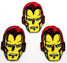 """Iron-Man 1.5"""" Mini-Patches - Set of 3 - Mailed from USA (IMPA-MP01)"""
