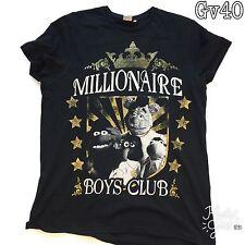 "Womens Disney The Muppet Show ""Millionaire Boys Club"" Black T Shirt Size XL"