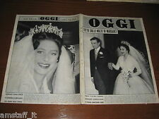 OGGI 1960/19=MARGARET RHODES=NAVE LEONARDO DA VINCI=GEORGE BRASSENS=