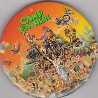 "VINTAGE 3"" PINBACK #28-095 - MOVIE - CAMP NOWHERE"