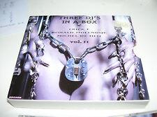 Three DJ's in A Box Volume II Erick E Ranald Molendijk Michel De Heij * 3CD BOX