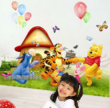 Extra-Large WINNIE THE POOH Party Wall Stickers Nursery Kids Room Decor Decals
