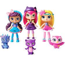 """Little Charmers Best Friends 3pk, 3"""" Dolls- Posie, Hazel, Lavender  with Pets"""