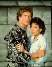 DAVID HASSELHOFF STEPFANIE KRAMER BRIDGE ACROSS TIME NBC TV PHOTO TRANSPARENCY