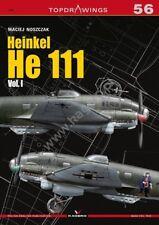Kagero Publishing - Top Drawings 56 - Heinkel He 111 - Vol 1                Book