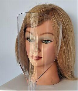 Face Facial Shield Beauty Salon / Barber  Hair Spray Protector -- FREE SHIPPING