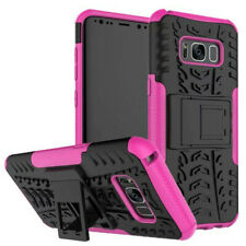 For Samsung Galaxy J3 Rugged Shock Proof Heavy Duty Tough Hard Stand Case Cover