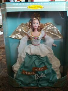 Barbie 1998 ANGEL OF JOY Timeless Sentiments Collection Christmas Barbie New