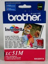 Brother Innobella LC51M Printer Cartridge - Magenta