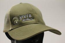 Fleuve DRIFTERS - Vert Olive - Taille Unique Casquette Snapback boule chapeau