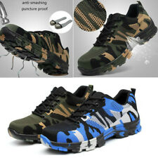 US Men's Work Safety Shoes Steel Toe Boots Anti-puncture Sneaker Hiking ESD