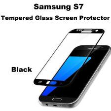 New Full Incurvé S7 noir protection d'écran verre trempé pour Samsung Galaxy S7