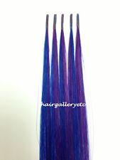 "18"" LONG KERATIN I-TIP FUSION 100% HUMAN HAIR EXTENSION +  FREE MICRO HAIR BEADS"