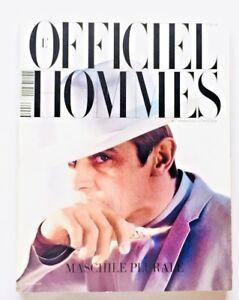 L'officiel hommes Italia n. 6 primavera estate 2012 Malika Ayane Hats Cerruti