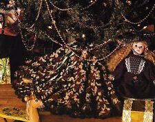 Crochet Pattern ~ Victorian Tree Skirt Christmas ~ Instructions