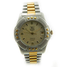 TAG HEUER TRISTAR 954 406 mens watch orologio uomo in acciaio Raro Anni 80