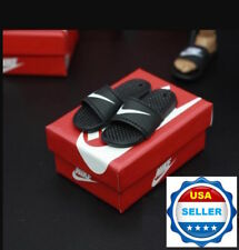 "1/6 Scale Nike Slides Sandals Slippers For 12"" Hot Toys Phicen Figure ❶USA❶"