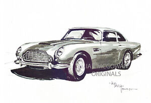 Aston Martin DBN5 James Bond Goldfinger Classic British Original Ian McGowan