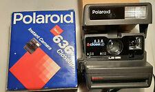 Polaroid Sofortbildkamera 636 Closeup Instant Camera, OVP + Bedienanleitung