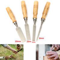 4PCS Carpenter Carving Firmer Gouge Woodworking Wood Chisel Set Hand Tool Set