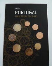 Portugal 2011 - Euro Coin Set Collection (BU) Card Limited Edition