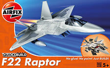 Airfix QUICK BUILD F22 Raptor Plastic Model Kit J6005