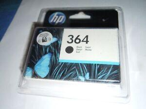 Original HP 364 Ink Cartridge - Black (CB316EE) - Dated Apl 2022