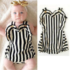 Lovely Infant Baby Girl Bodysuit Romper Jumpsuit Outfits Sunsuit One-piece 0-24