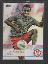 JUAN AGUDELO - 2012 OLYMPICS SOCCER  - TOPPS #3