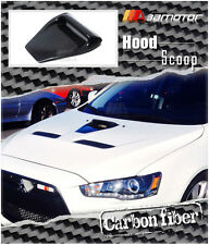 Carbon Fiber CS Style Bonnet Scoop Hood Air Vent for Mitsubishi Evolution EVO 10