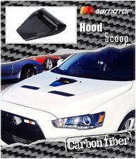 Carbon Fiber CS Style Bonnet Scoop Hood Air Vent for Mitsubishi Evolution EVO 10