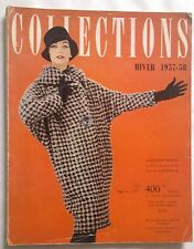 COLLECTIONS Magazine N°139 Haute Couture Hiver 1957/58 Collector VINTAGE 1950/60