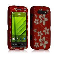 Housse coque rigide complète pour Blackberry Torch 9860 couleur rouge avec motif