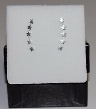 New 925 Sterling Silver Climber Ear Vine Little Stars Earrings