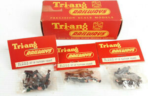TRIANG R283 PLATFORM FIGURE PACKS X 3 IN DEALER BOX! VERY GOOD COND BOXED OO(WT)