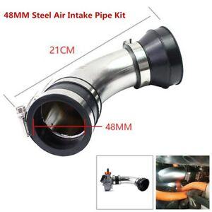 1*Motorcycle ATV Air Intake Filter Carburetor Air Pod Curved Tube Cleaner Intake