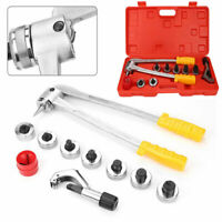 7 Lever Manual Copper Heads Tube Pipe Expander Swaging HVAC Kit Expanding Tool