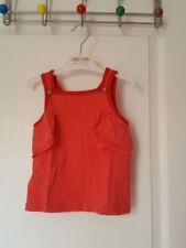 Vêtements débardeurs rouge col rond pour fille de 2 à 16 ans